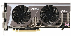 Ремонт видеокарты MSI N580GTX Twin Frozr II/OC