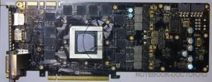 Ремонт GeForce GTX TITAN BLACK. Система охлаждения снята.