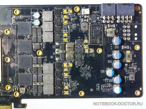 GeForce GTX TITAN BLACK проверка системы питания.