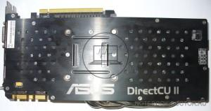 Asus GTX770-DC2OC-2GD5 вид сзади