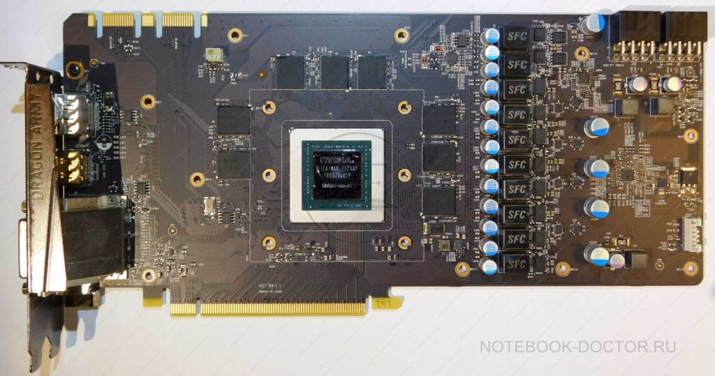 MSI GTX980 GAMING 4G подготовка к ремонту