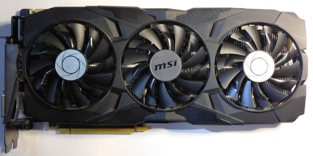 Ремонт видеокарты MSI GTX1080TI DUKE 11G OC. Ремонт системы питания.